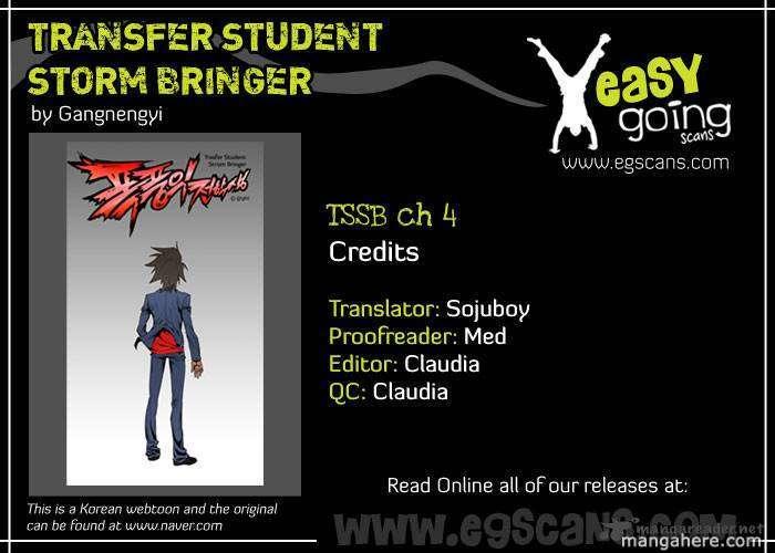 Transfer Student Storm Bringer 4 Page 1