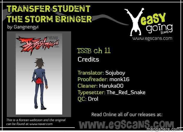 Transfer Student Storm Bringer 11 Page 1