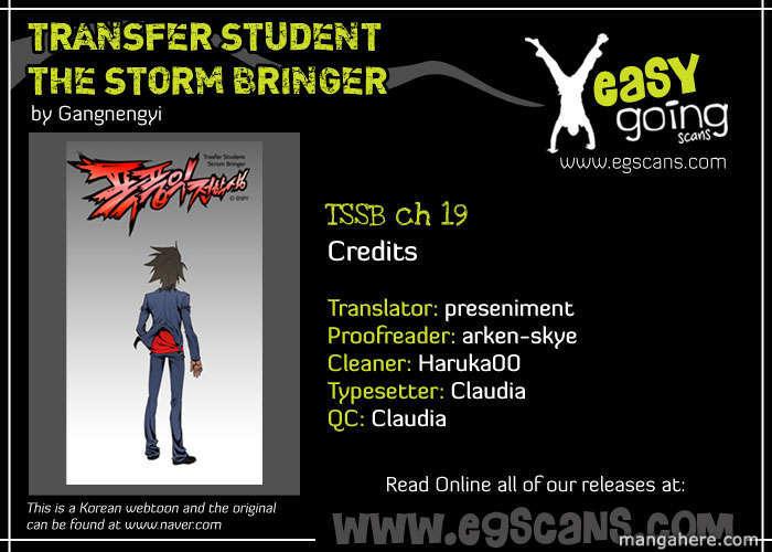 Transfer Student Storm Bringer 19 Page 1