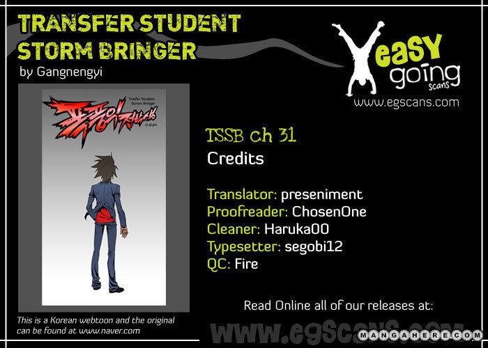 Transfer Student Storm Bringer 31 Page 1