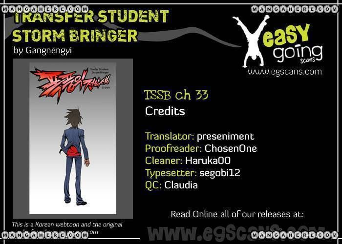Transfer Student Storm Bringer 33 Page 1