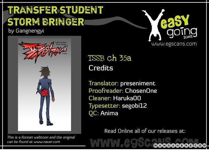 Transfer Student Storm Bringer 35.1 Page 1