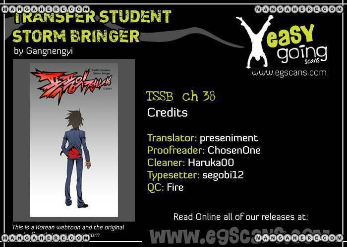 Transfer Student Storm Bringer 38 Page 1