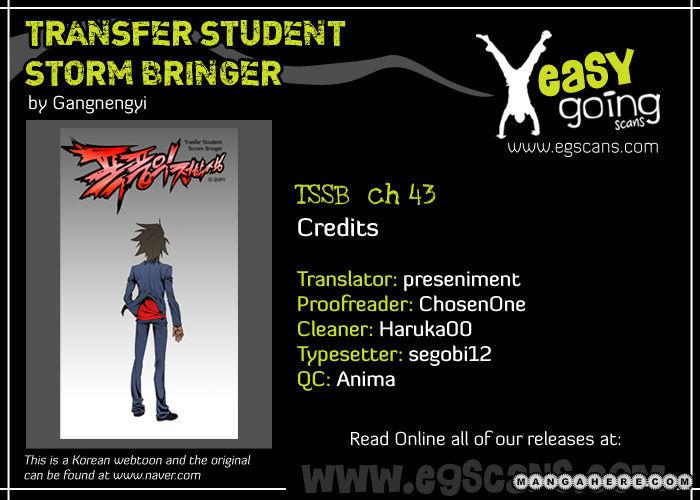 Transfer Student Storm Bringer 43 Page 1