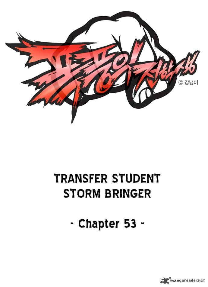Transfer Student Storm Bringer 53 Page 1