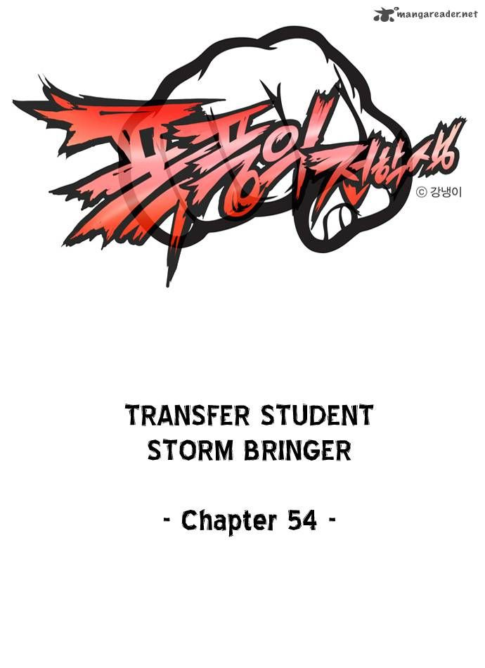 Transfer Student Storm Bringer 54 Page 1