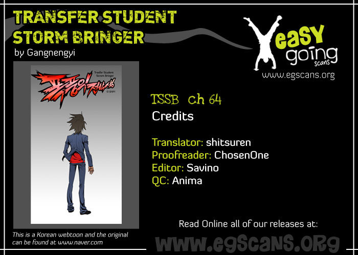 Transfer Student Storm Bringer 64 Page 1