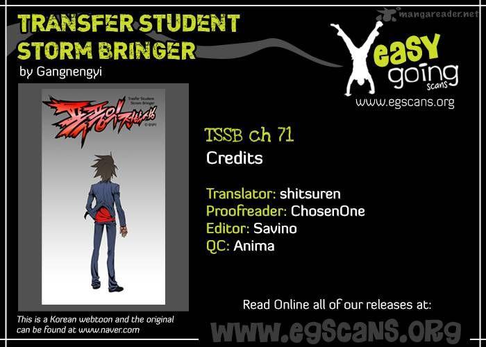 Transfer Student Storm Bringer 71 Page 1