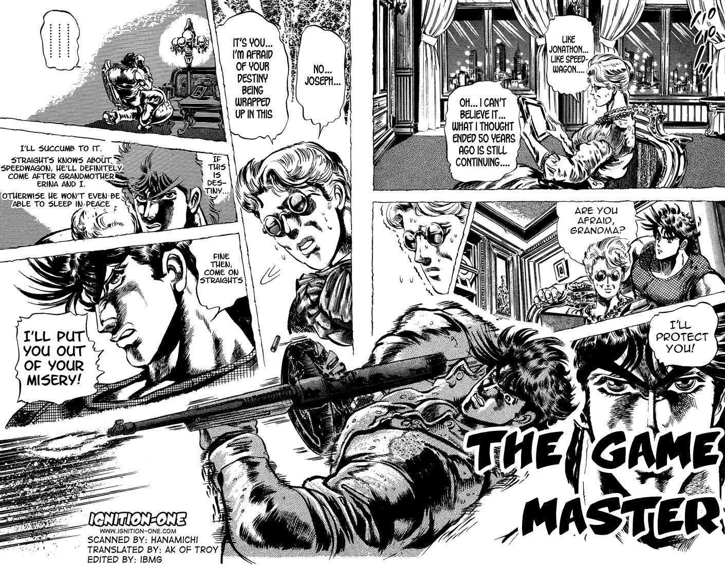JoJo's Bizarre Adventure 49 Page 1