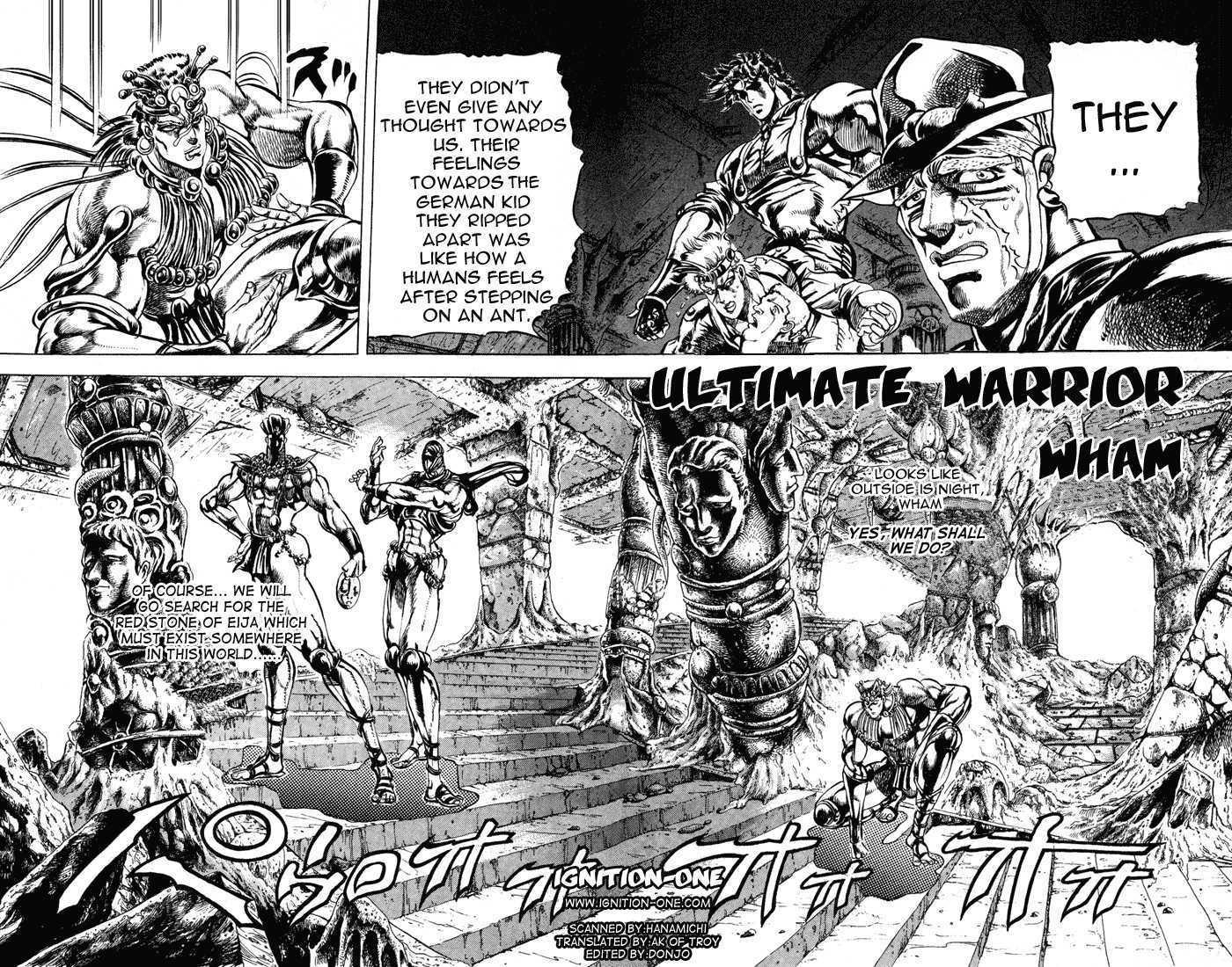 JoJo's Bizarre Adventure 66 Page 1