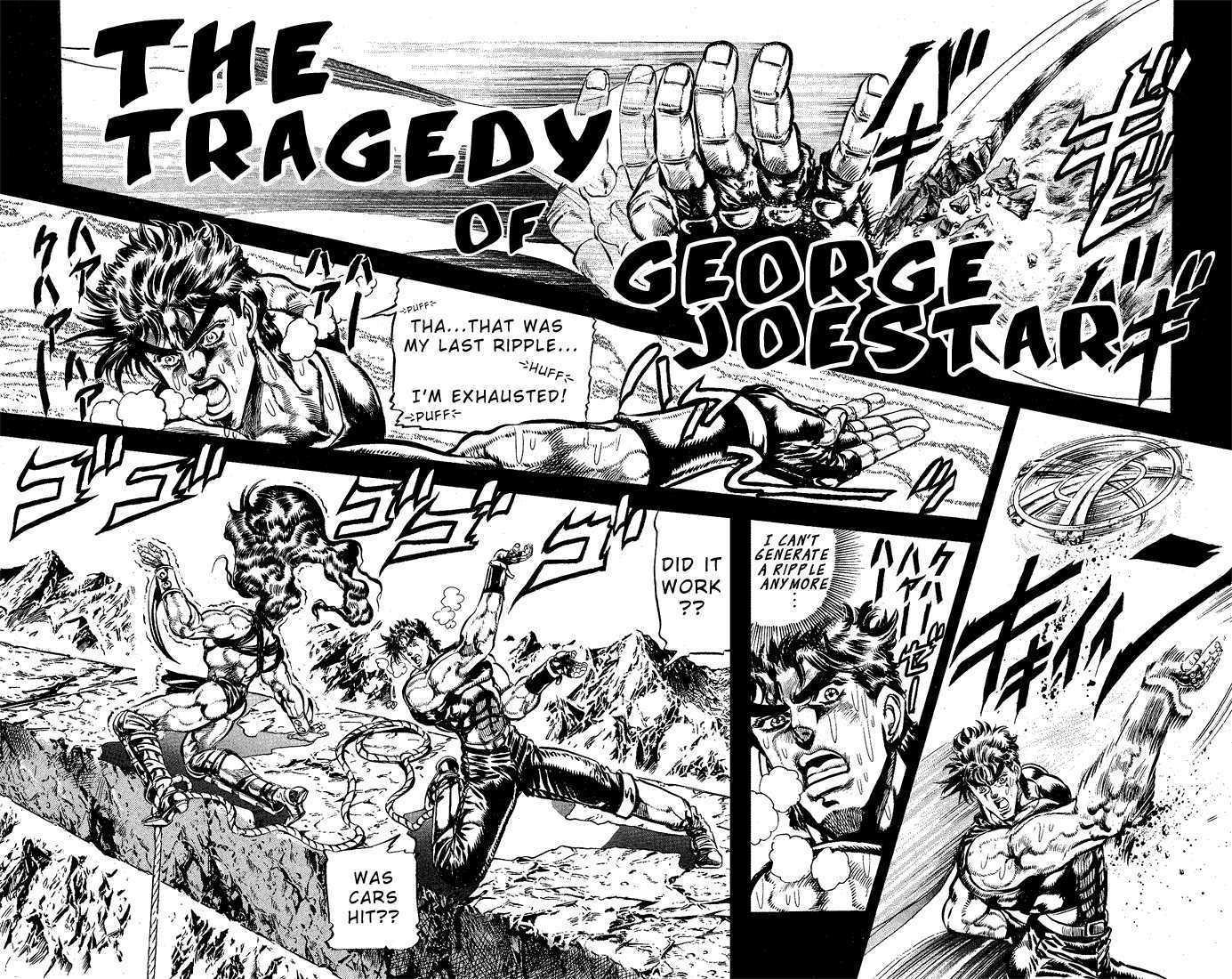 JoJo's Bizarre Adventure 108 Page 1