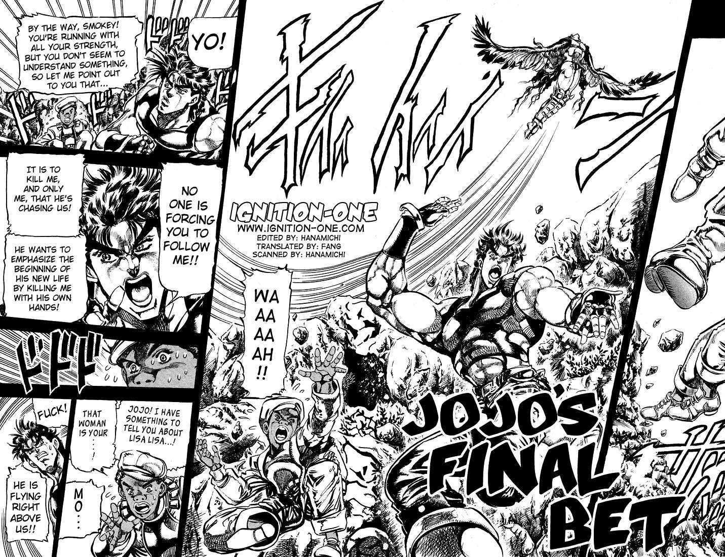 JoJo's Bizarre Adventure 110 Page 1