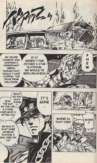 JoJo's Bizarre Adventure 151 Page 2