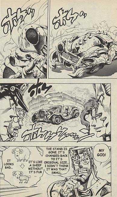 JoJo's Bizarre Adventure 154 Page 3