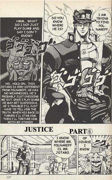 JoJo's Bizarre Adventure 159 Page 1