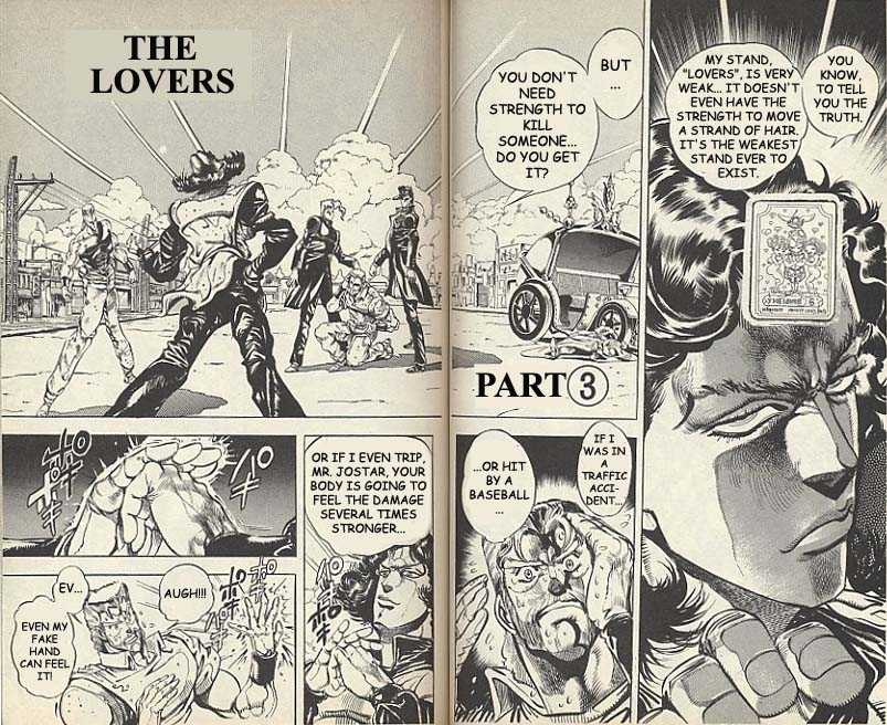 JoJo's Bizarre Adventure 162 Page 1