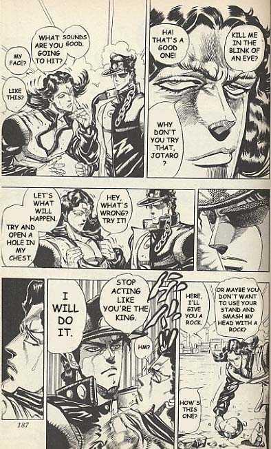JoJo's Bizarre Adventure 162 Page 3