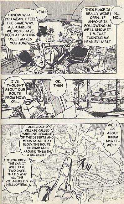 JoJo's Bizarre Adventure 166 Page 3