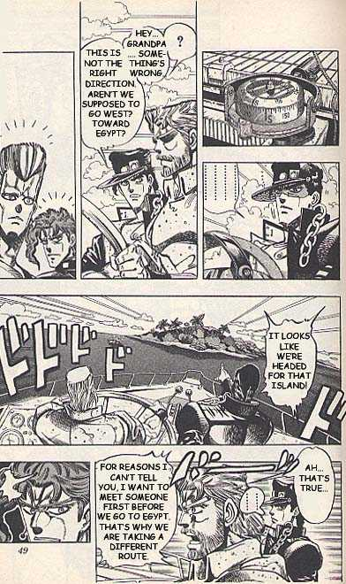 JoJo's Bizarre Adventure 174 Page 3