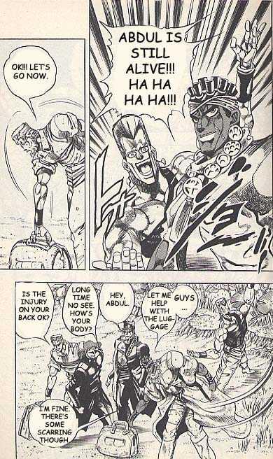 JoJo's Bizarre Adventure 179 Page 3