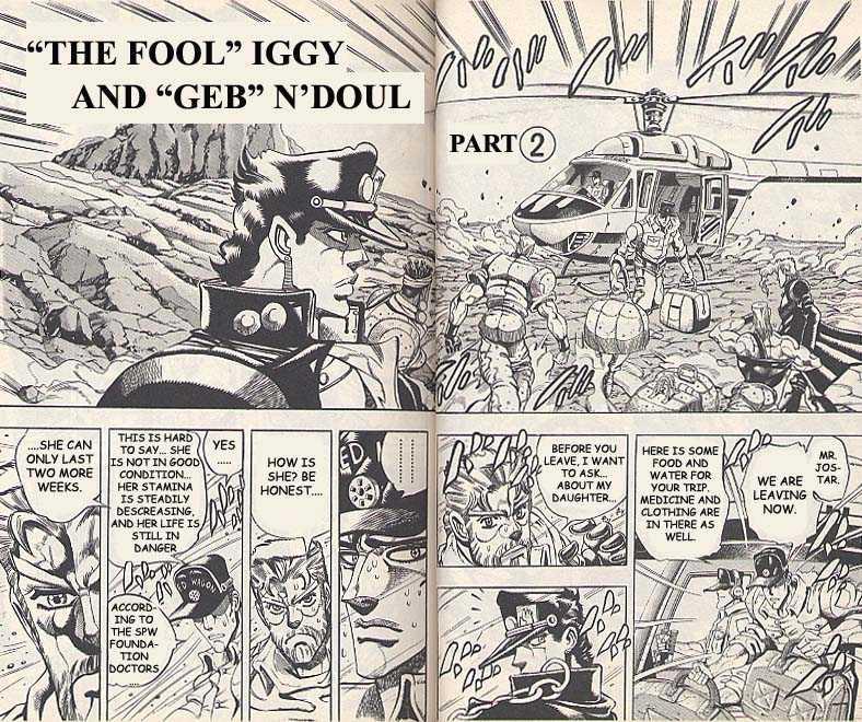 JoJo's Bizarre Adventure 184 Page 1