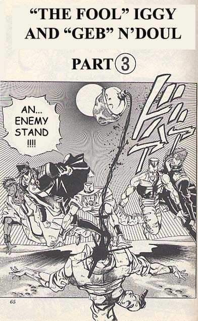 JoJo's Bizarre Adventure 185 Page 1