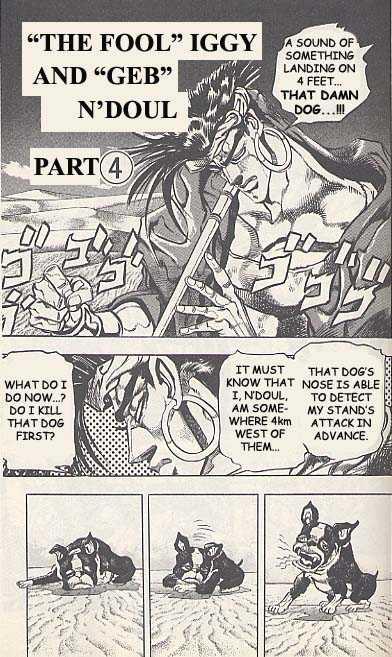 JoJo's Bizarre Adventure 186 Page 1