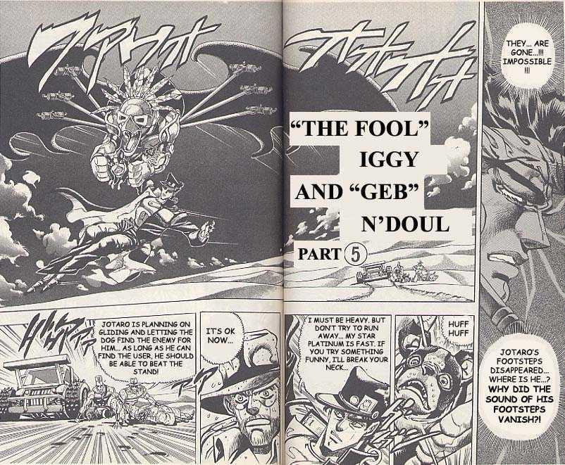 JoJo's Bizarre Adventure 187 Page 1