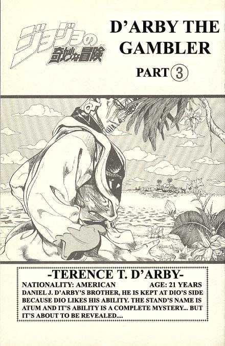 JoJo's Bizarre Adventure 229 Page 1