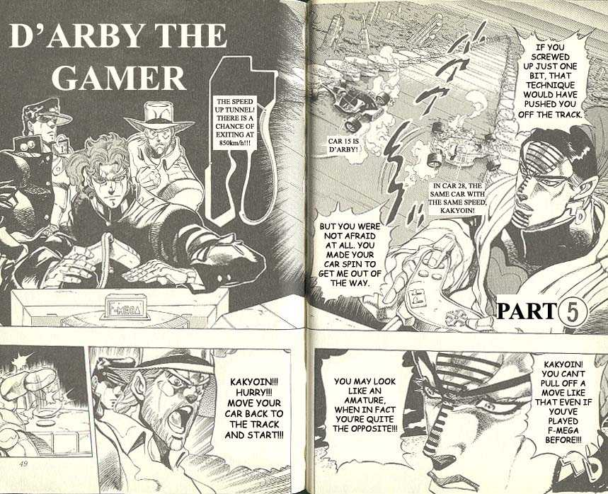 JoJo's Bizarre Adventure 231 Page 1