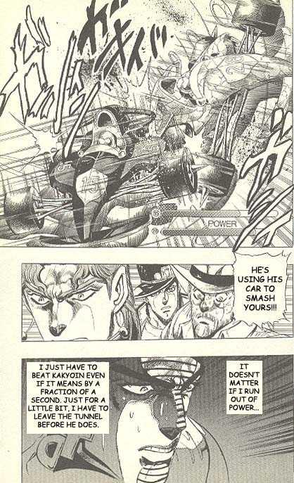 JoJo's Bizarre Adventure 232 Page 3