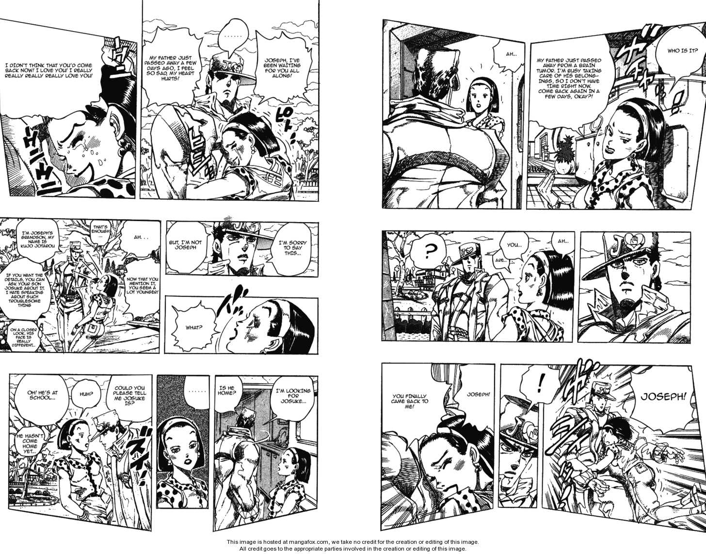 JoJo's Bizarre Adventure 276 Page 2