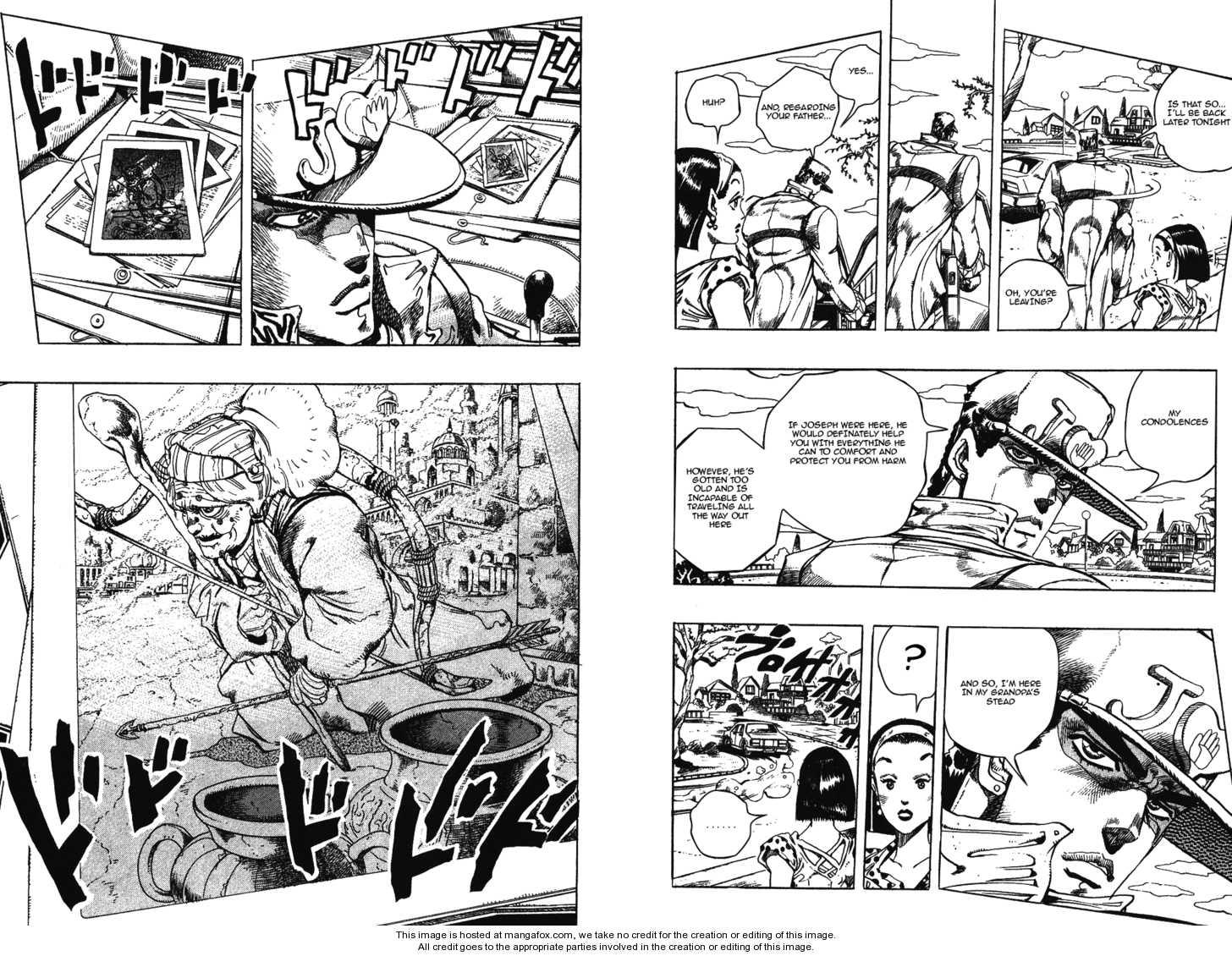 JoJo's Bizarre Adventure 276 Page 3