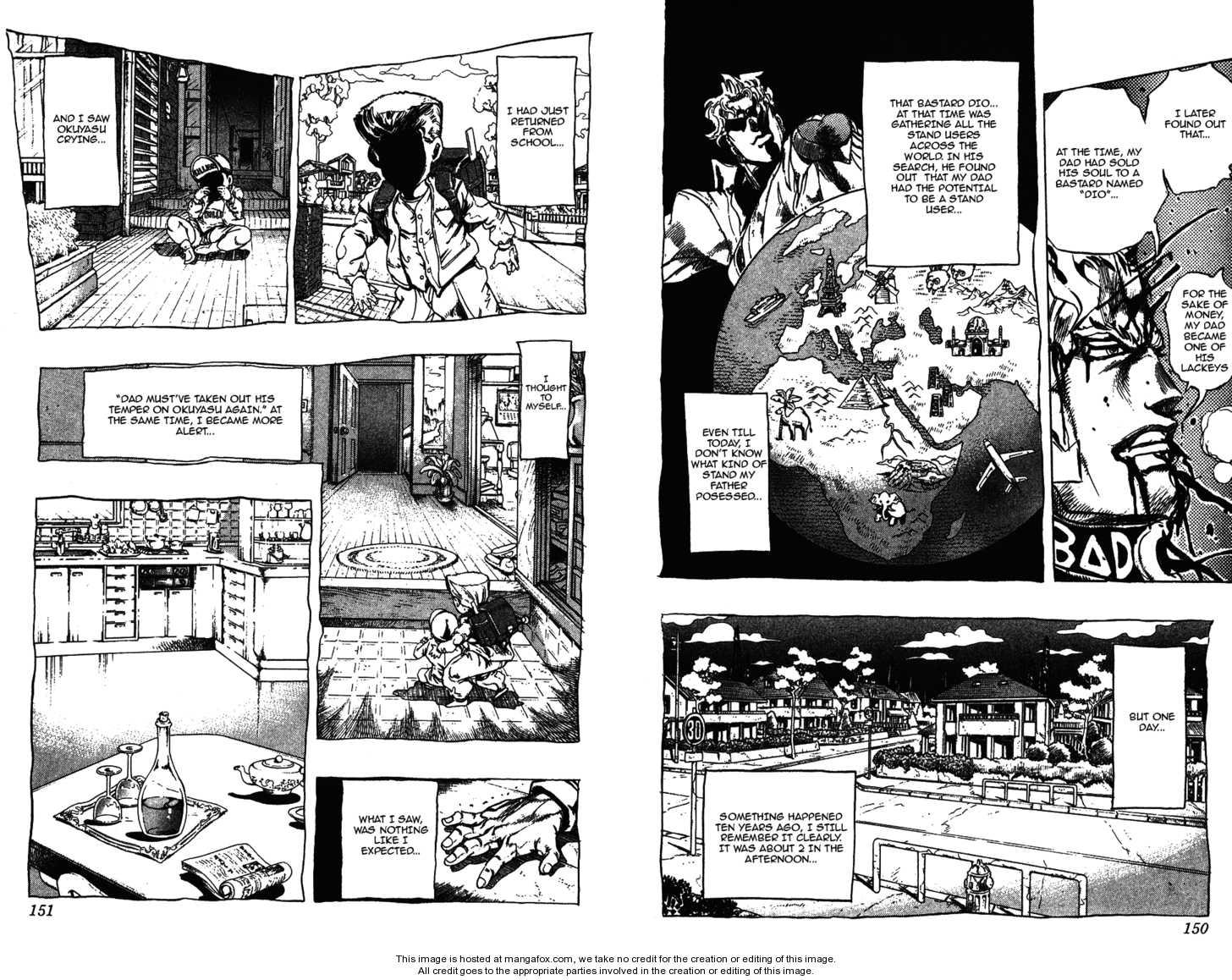 JoJo's Bizarre Adventure 282 Page 3