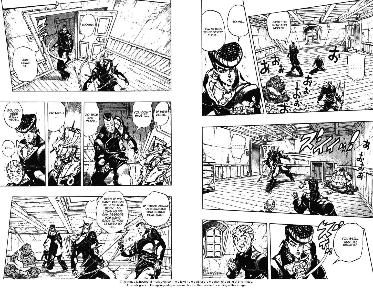JoJo's Bizarre Adventure 283 Page 2