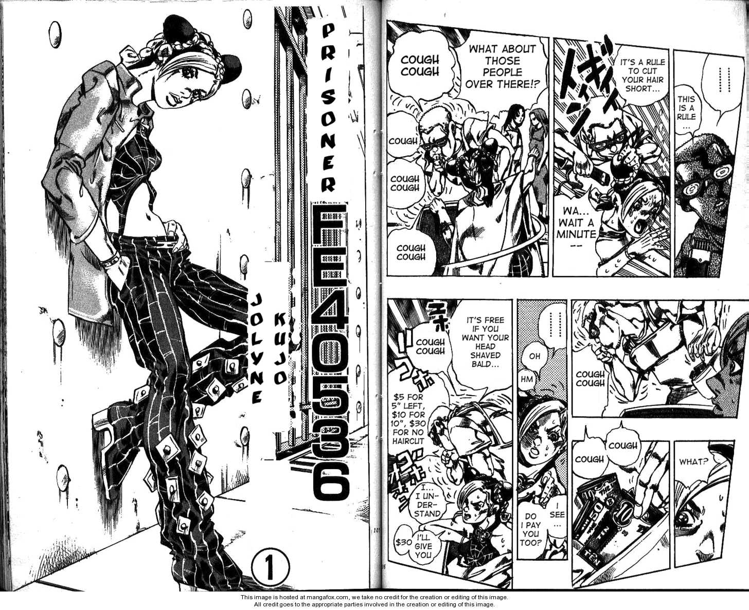 JoJo's Bizarre Adventure 598 Page 2