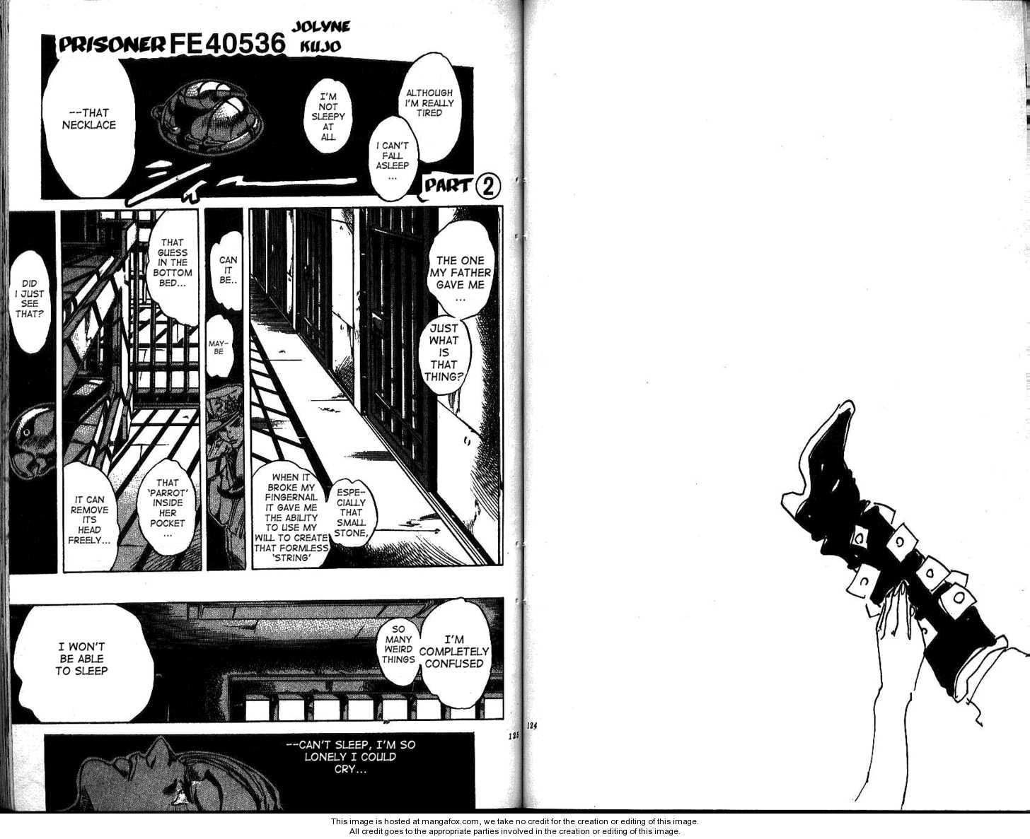JoJo's Bizarre Adventure 599 Page 1