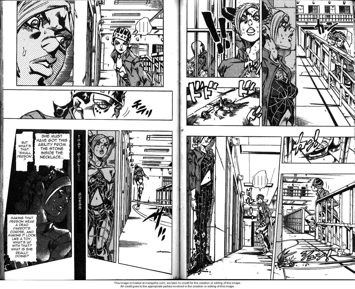 JoJo's Bizarre Adventure 600 Page 3