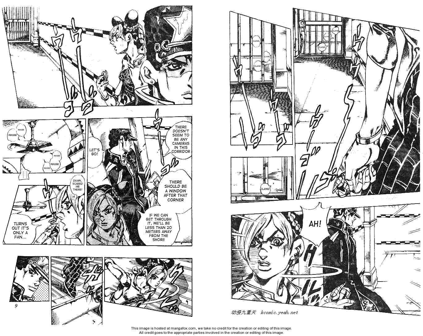 JoJo's Bizarre Adventure 612 Page 2