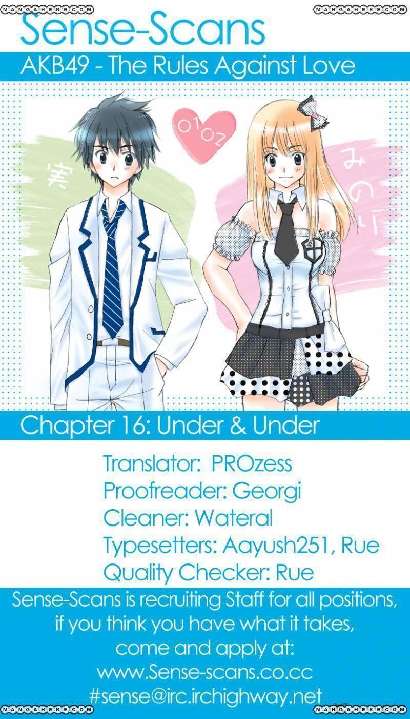 AKB49 Renai Kinshi Jourei 16 Page 1