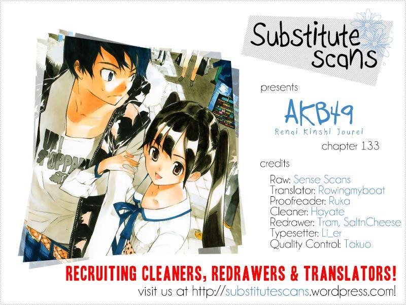 AKB49 Renai Kinshi Jourei 133 Page 1