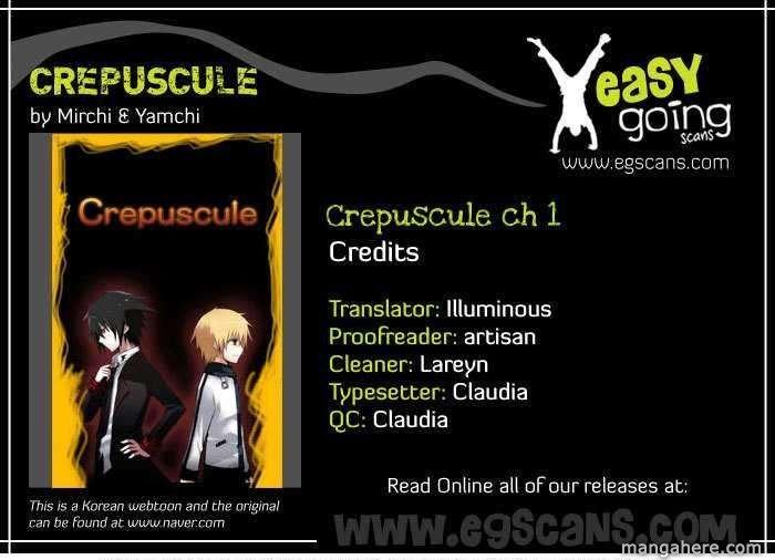 Crepuscule (Yamchi) 1 Page 1