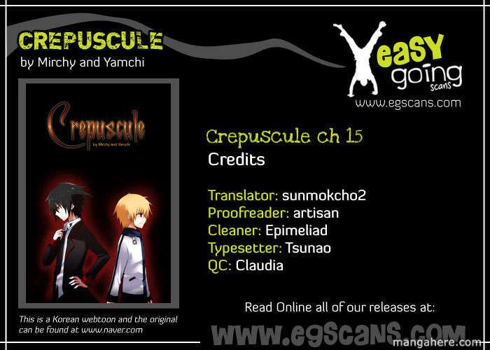Crepuscule (Yamchi) 15 Page 1