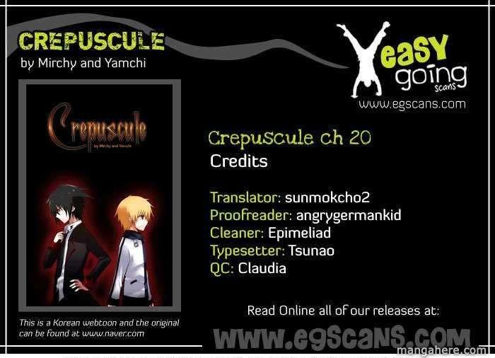 Crepuscule (Yamchi) 20 Page 1