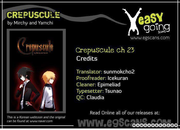 Crepuscule (Yamchi) 23 Page 1