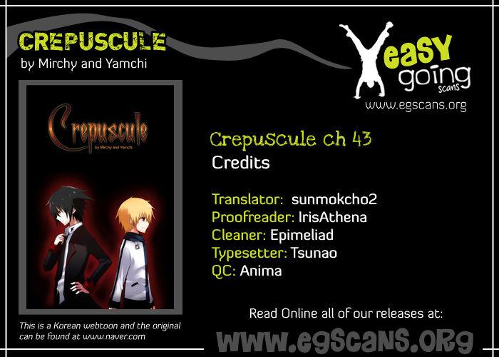 Crepuscule (Yamchi) 43 Page 1