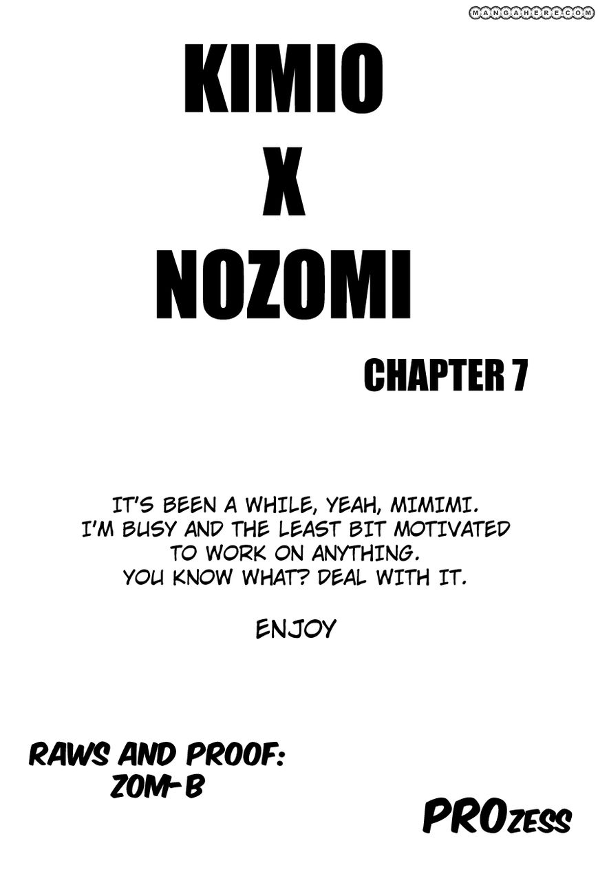 Nozomi To Kimio 7 Page 1