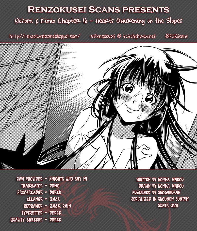 Nozomi To Kimio 16 Page 1