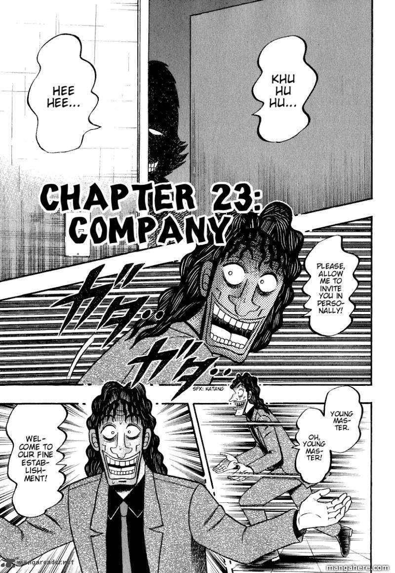 Tobaku Datenroku Kaiji 23 Page 3