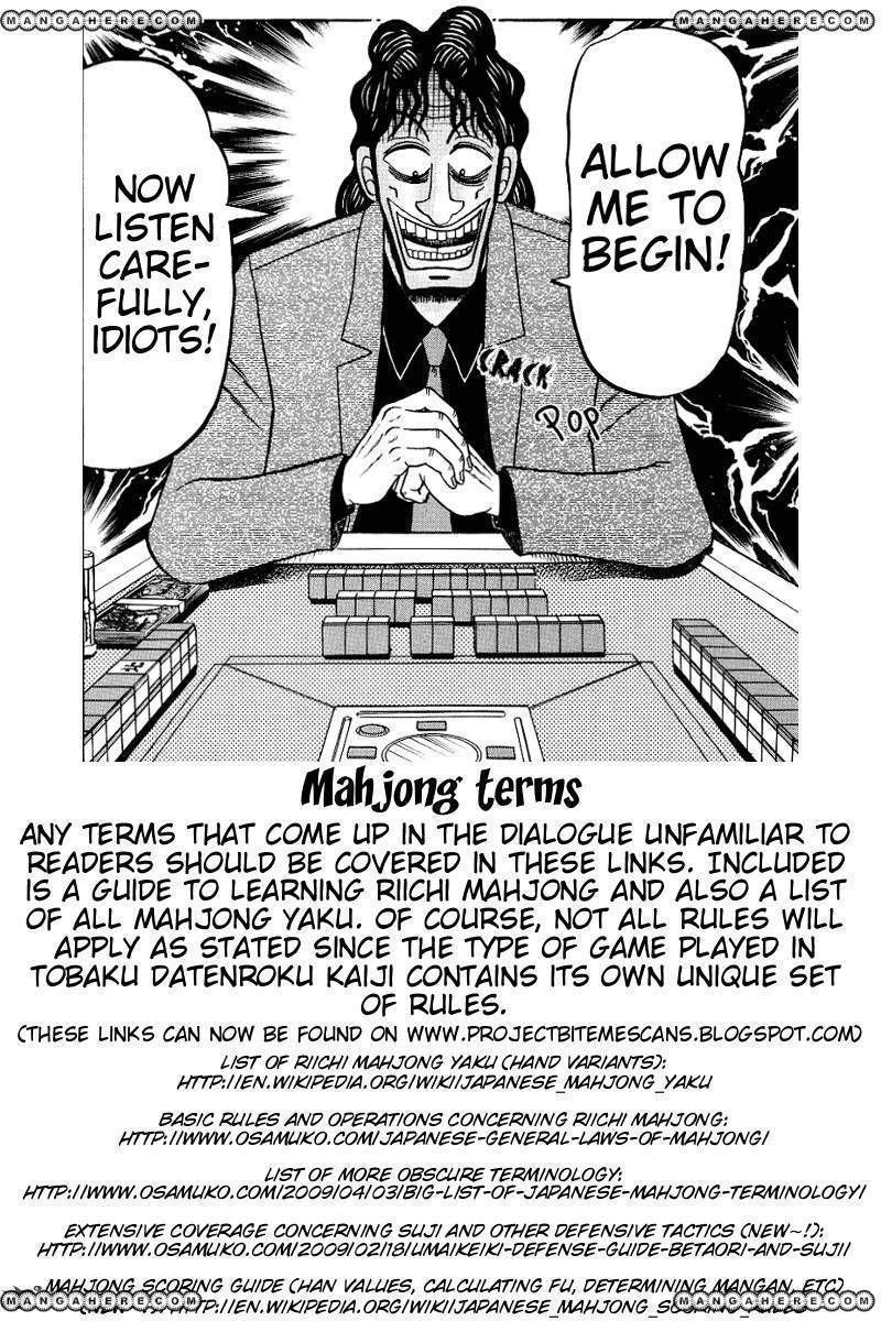 Tobaku Datenroku Kaiji 27 Page 1